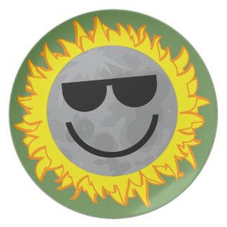Ecliptomaniac Eclipse Plate - Green