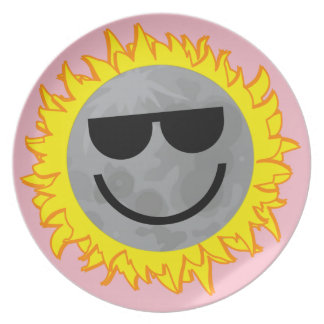 Ecliptomaniac Eclipse Plate - Pink