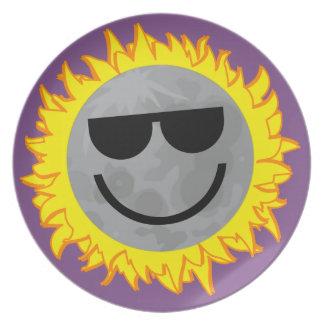 Ecliptomaniac Eclipse Plate - Purple