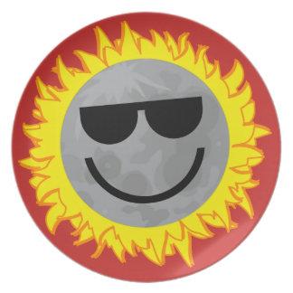 Ecliptomaniac Eclipse Plate - Red