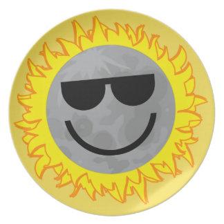 Ecliptomaniac Eclipse Plate - Yellow