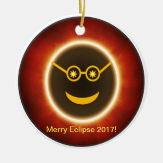 Ecliptomaniac Face Ceramic Ornament