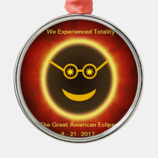 Ecliptomaniac Face Metal Ornament