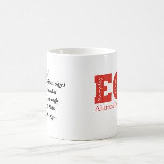 ECN Alumni Caffeineology fill-it-in mug