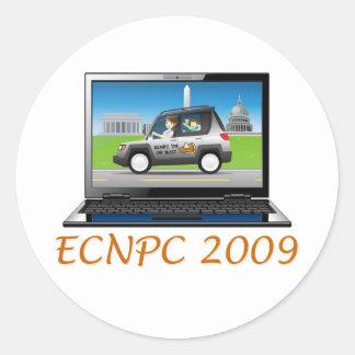 ECNPC 2009 sticker