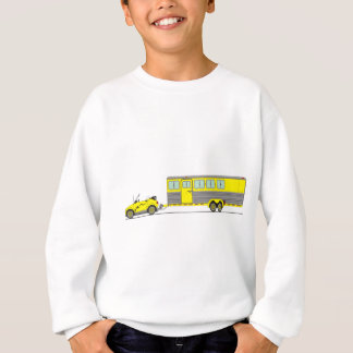 Eco Car Horse Trailer Sweatshirt