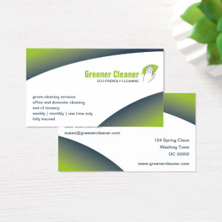 Eco-cleaning Business Card