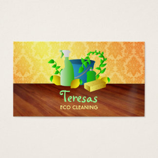 Eco cleaning business cards