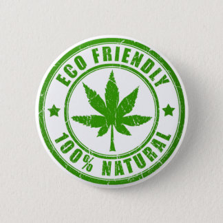 Eco Friendly 2 Inch Round Button
