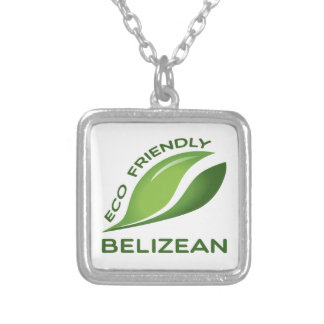 Eco Friendly Belizean. Silver Plated Necklace