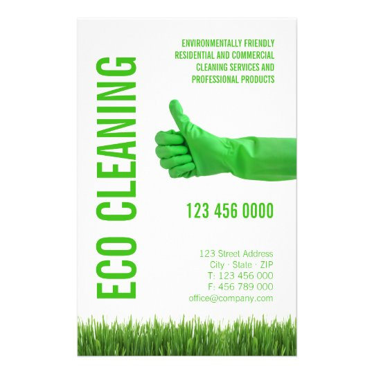 Eco friendly housekeeping
