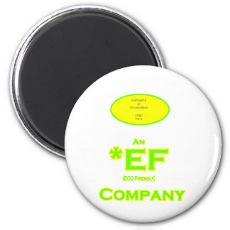 ECO Friendly Company Magnet