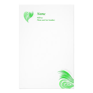 Eco-Friendly Design Stationery