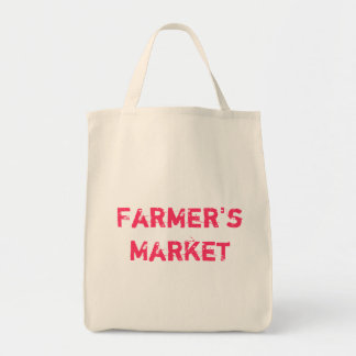 "Eco-friendly ""Farmer's Market"" Grocery Tote"