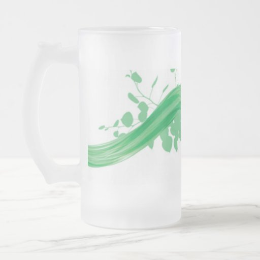 Eco-Friendly Frosted Glass Mug