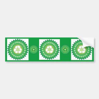eco-friendly-product bumper sticker