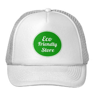 Eco Friendly Store Mesh Hats