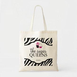 Eco-Friendly Zebra Cupcake Shopping Bag