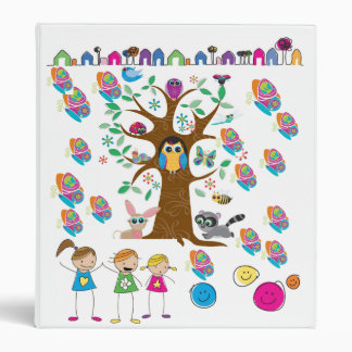 Eco Girl Scout 3 Ring Binders