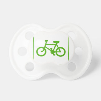 Eco Green Bicycle icon, bike, ecology Pacifier