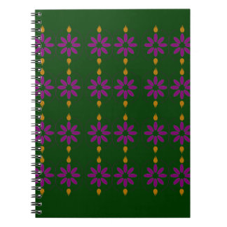 ECO GREEN ELEMENTS SPIRAL NOTEBOOK