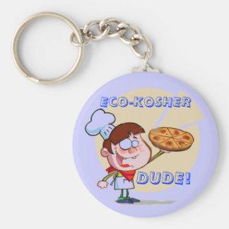 Eco-KOSHER, DUDE! Orthodox Key Ring
