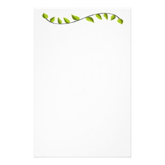 Eco Pretty Fancy Green  Fantasy Lawn Care Stationery