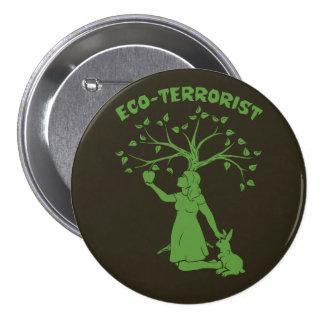 Eco-Terrorist 3 Inch Round Button