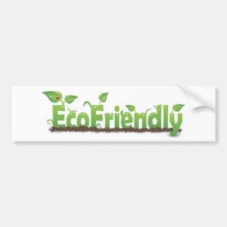 Ecofriendly Bumper Sticker