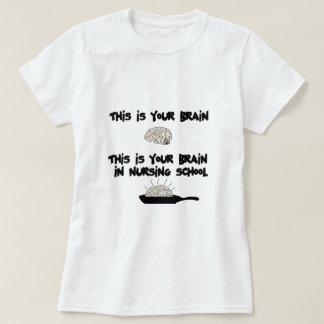 École d'infirmières t-shirt