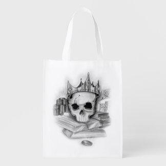 Ecological bags skull