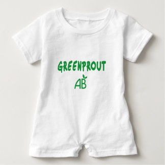 Ecological Greenprout Baby Romper