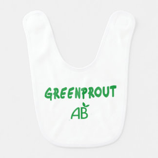 Ecological Greenprout Bib