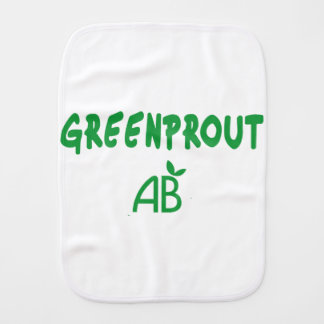 Ecological Greenprout Burp Cloth