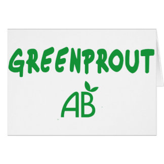 Ecological Greenprout Card