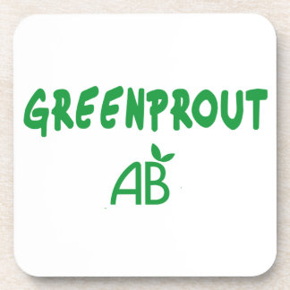 Ecological Greenprout Coaster