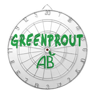 Ecological Greenprout Dartboard