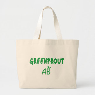 Ecological Greenprout Large Tote Bag
