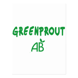 Ecological Greenprout Postcard