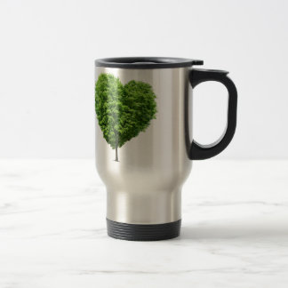ecological heart travel mug