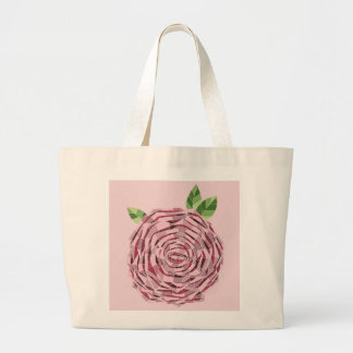 Ecological stock market Rosa Vitral Large Tote Bag