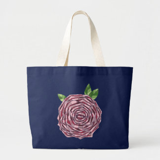 Ecological stock market Rosa Vitral Large Tote Bag