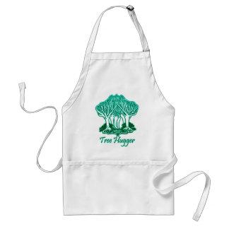 Écologiste de nature de Hugger d'arbre d'Aqua Tablier