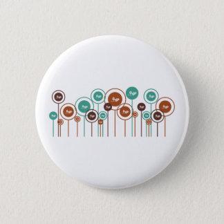 Ecology Daisies 2 Inch Round Button