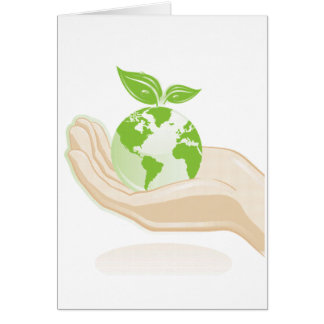 Ecology : Mother earth - Card