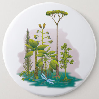 Ecology : plant a tree - 6 inch round button