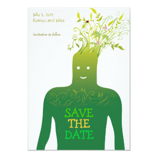 Ecology Save the Date Card