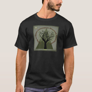 Ecology Tree, Think Green T-Shirt