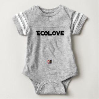 ECOLOVE - Word games - François City Baby Bodysuit