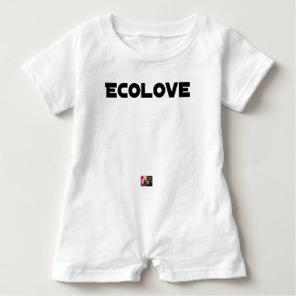 ECOLOVE - Word games - François City Baby Romper